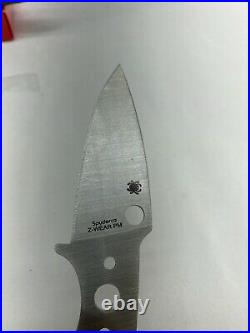 Spyderco Z WEAR Mule Team 30 Knife MT30P NEW In Box