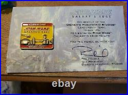 Star Wars Galaxy's Edge Opening Team Magic Band /Pin /Map/Dasani Full Bottle
