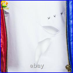 Suicide Squad Harley Quinn Cosplay Costume Jacket Halloween Fancy Suit for Adult