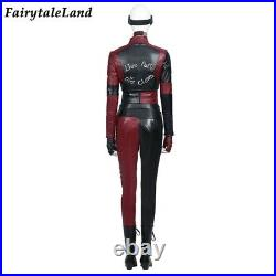 Suicide Squad Harley Quinn Cosplay Costume Punk Jacket Halloween Joker Outfit