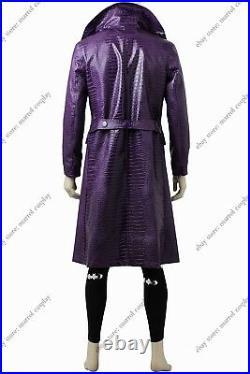 Suicide Squad Jared Leto Joker Costume Halloween Cosplay Costume Cloth Full Set