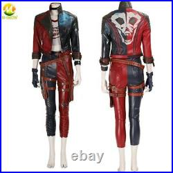 Suicide Squad Kill The Justice League Harley Quinn Cosplay Costume Women Jacket