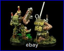 WH40K Imperial Guard Astra Militarum Catachan HQ Full Conversions Kill Team